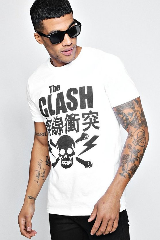 The Clash Japanese T-Shirt