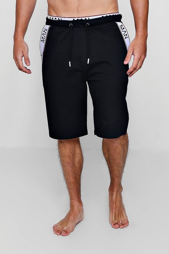MAN Black Tape Lounge Shorts