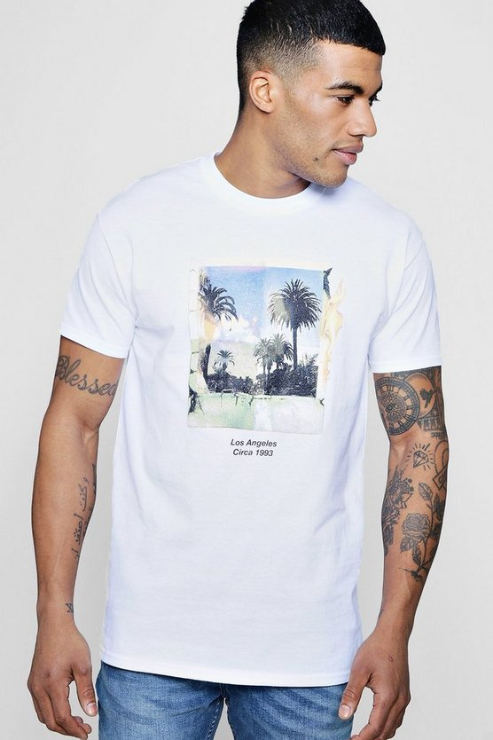 Polaroid Palm Print T-Shirt