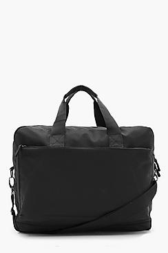 Borsa per laptop con cerniera in nylon