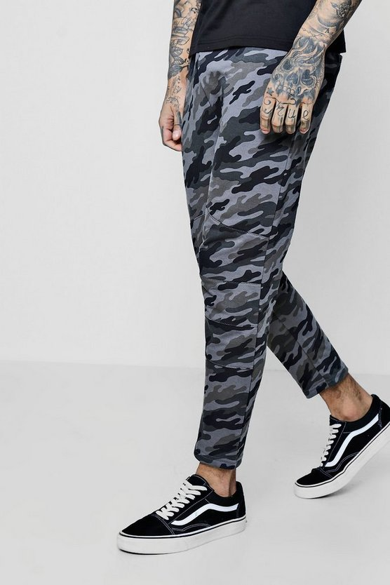 Cropped Panelled Jogger