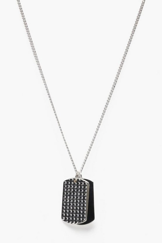 Double Dog Tag Necklace