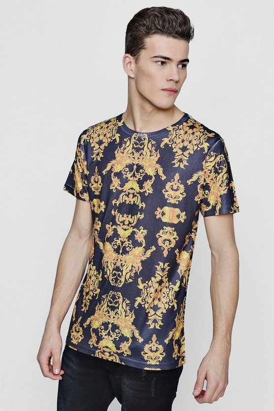 Baroque All Over Print T-Shirt