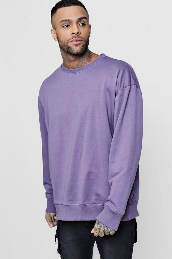 Lightweight Oversized Sweatshirt