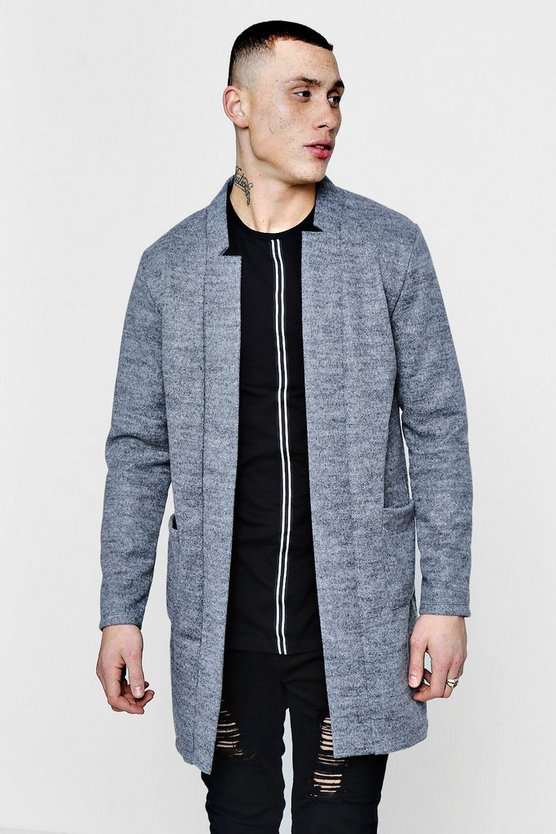 Wool Look Unlined Jacket