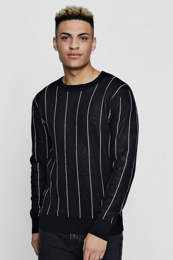 Stripe Knitted Jumper