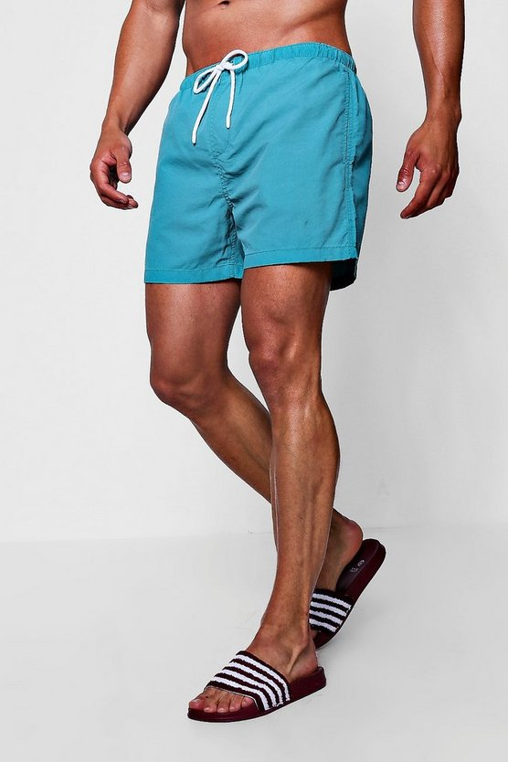 Pigment Dyed Swim Shorts