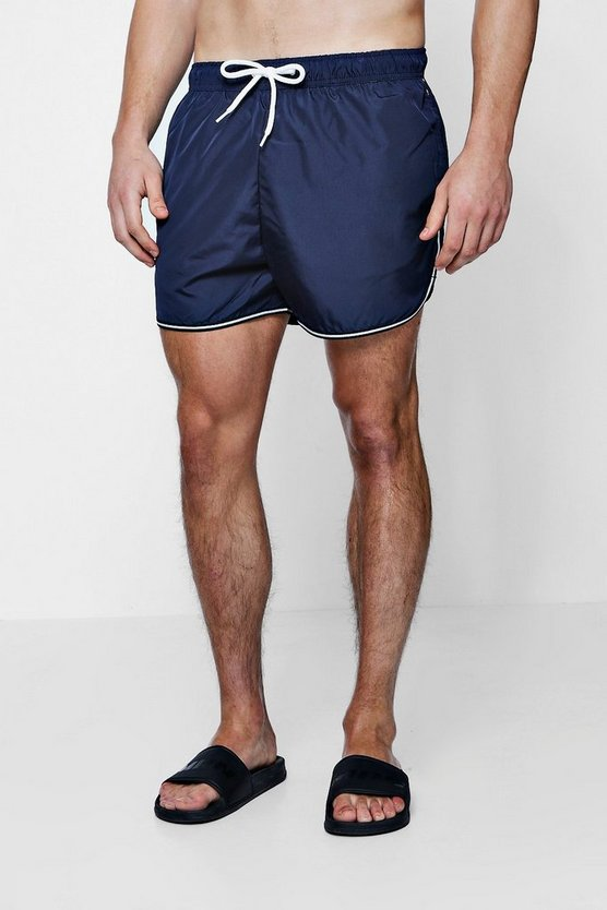 Runner Swim Shorts With Sports Trim