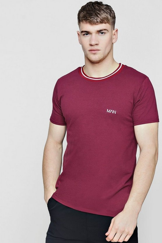MAN T-Shirt With Sports Rib
