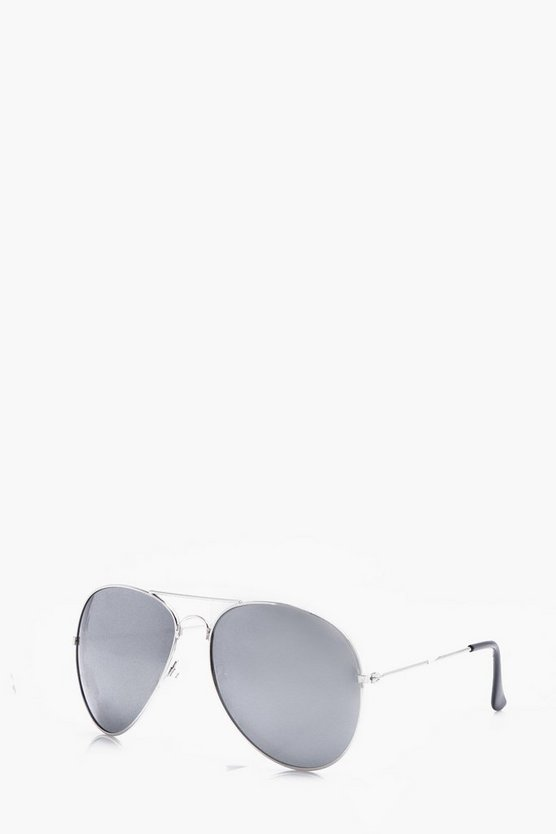 Mirrored Lens Aviator