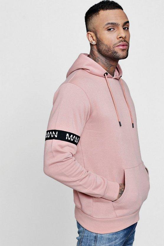 man-armband-hoodie by boohoo