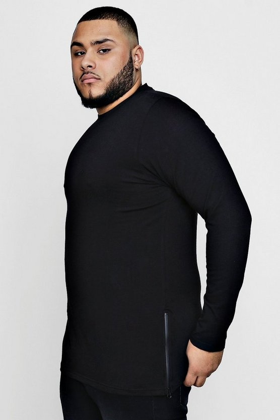 Big And Tall Slim Fit Long Sleeve MAN T-Shirt