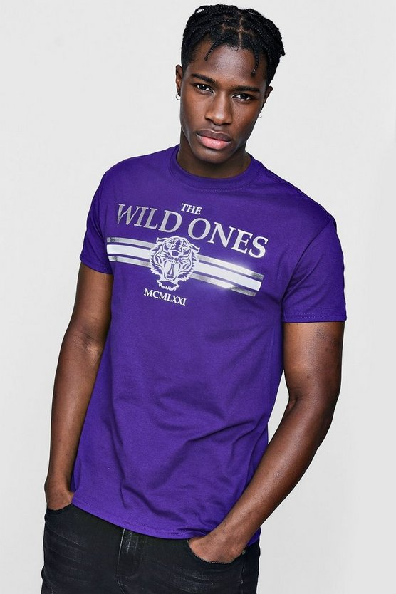 Wild Ones Tiger Print T-Shirt