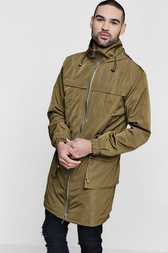 Lightweight Unlined Parka