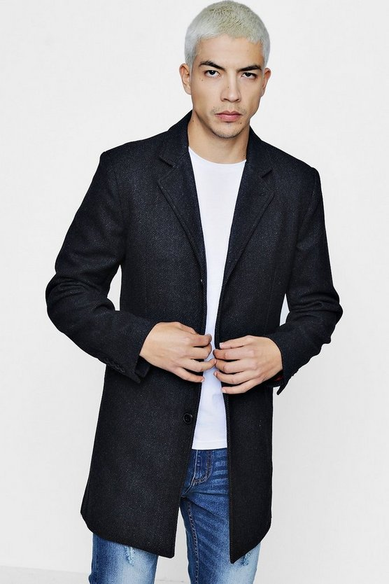 Wool Mix Overcoat