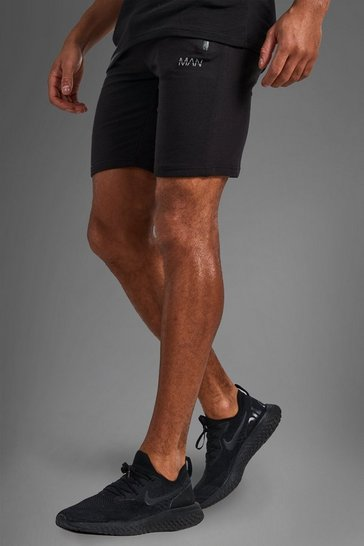 Black Active Gym Shorts
