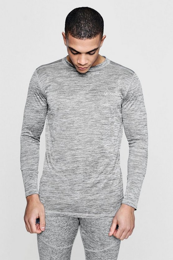 Active Long Sleeve Gym T-Shirt