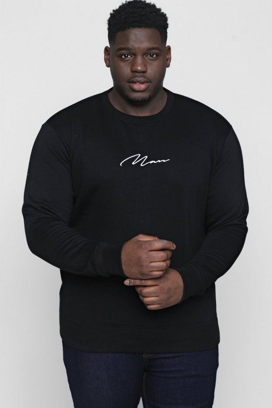 Sweat homme Signature Big And Tall
