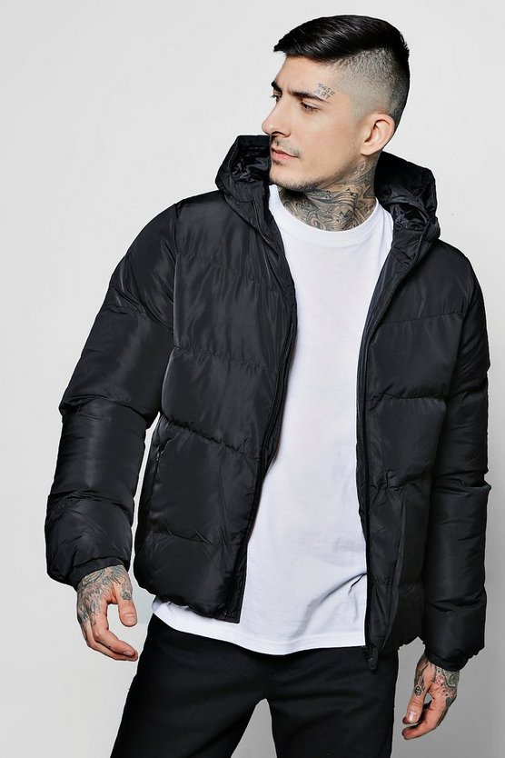 Puffer With Tech Zips