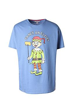 Big And Tall Fancy An Elfie T-Shirt