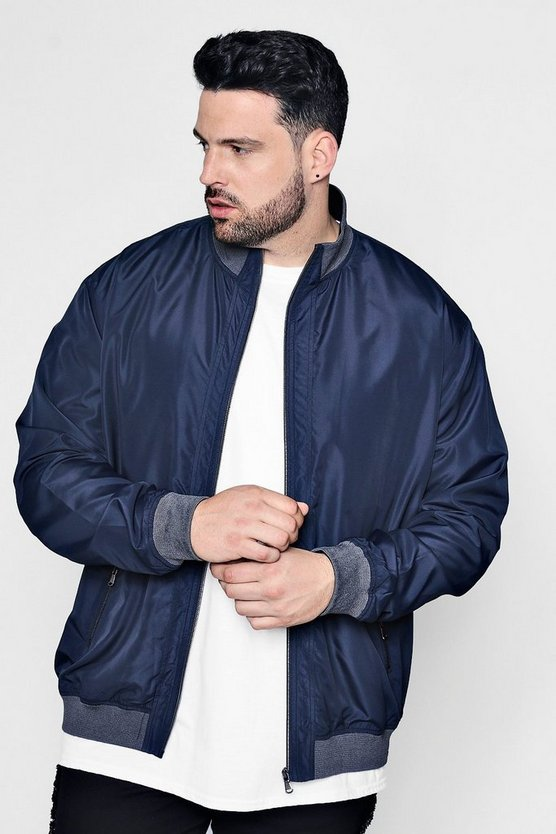 Big And Tall Lightweight Bomber