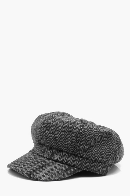 Tweed Baker Boy Hat