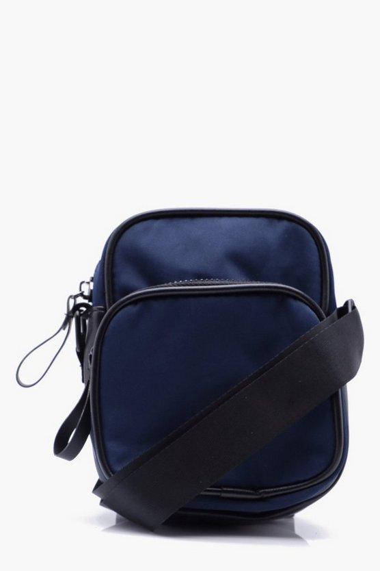 Nylon Messenger Bag