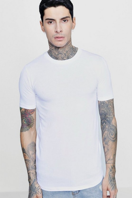 Longline Muscle Fit T-Shirt