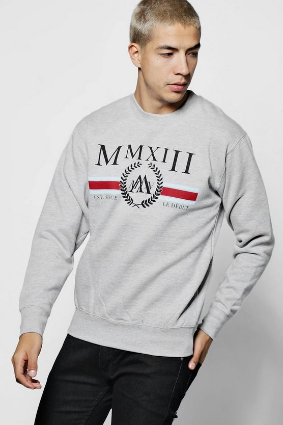 Retro MAN Stripe Sweater