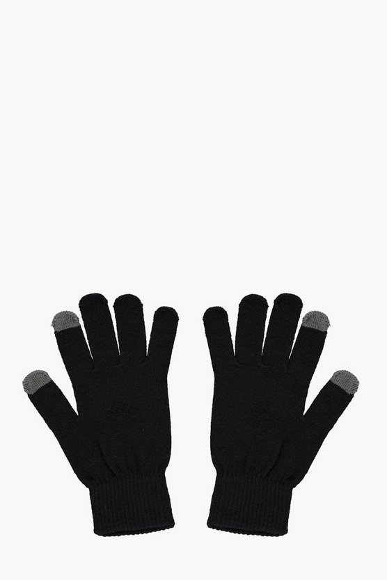 Mens Thermal Phone Touch Gloves