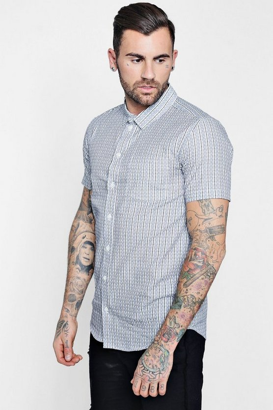 Short Sleeve Printed Shirt