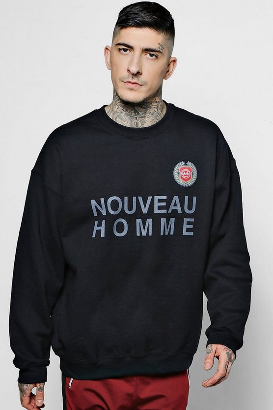 Oversized Nouveau Homme Sweater