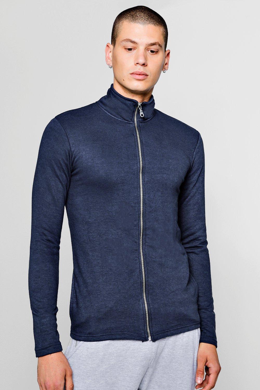Купить со скидкой Спортивная облегающая куртка облегченного кроя