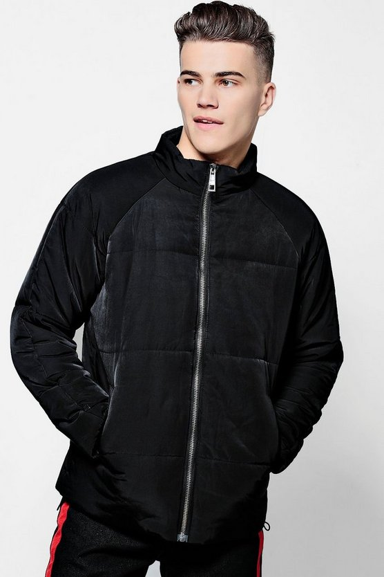 Zip Front Padded Jacket