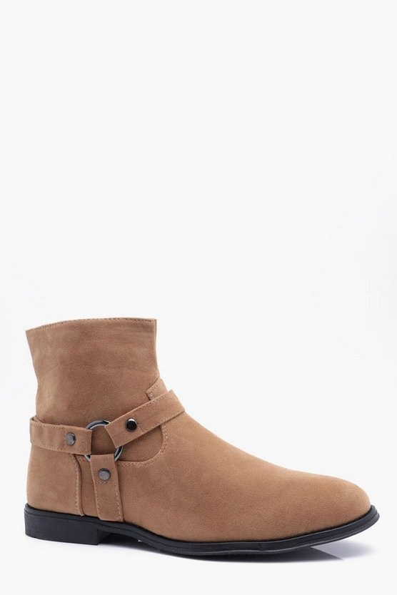 Buckle Detail Chelsea Boot