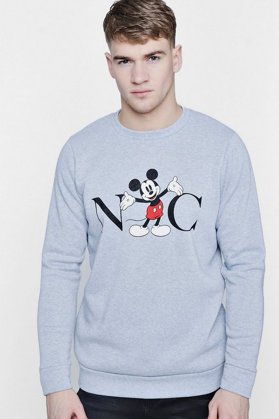 Disney NYC Mickey Sweater