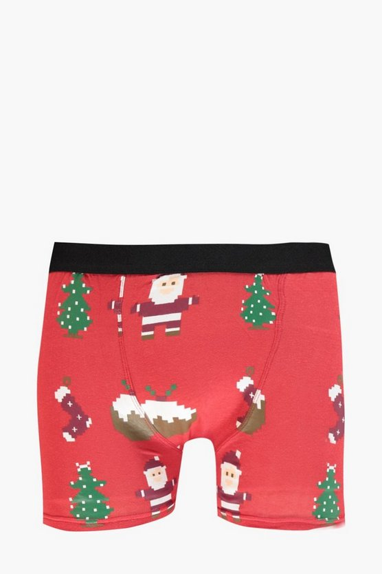Boxer Natale con emoticon