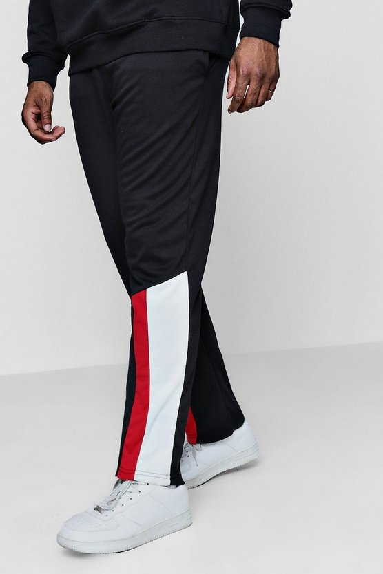 Big And Tall Colour Block Joggers