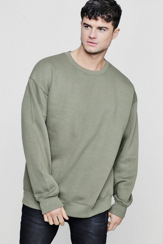 Fleece Oversized Sweatshirt