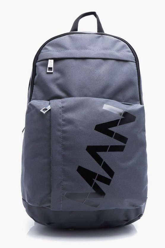 Canvas Rucksack With MAN Branding
