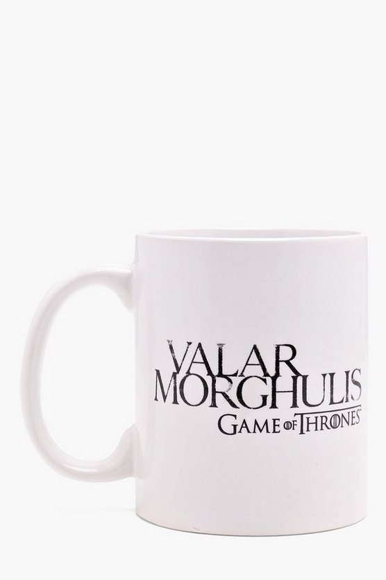 Game Of Thrones Valar Morghulis Mug