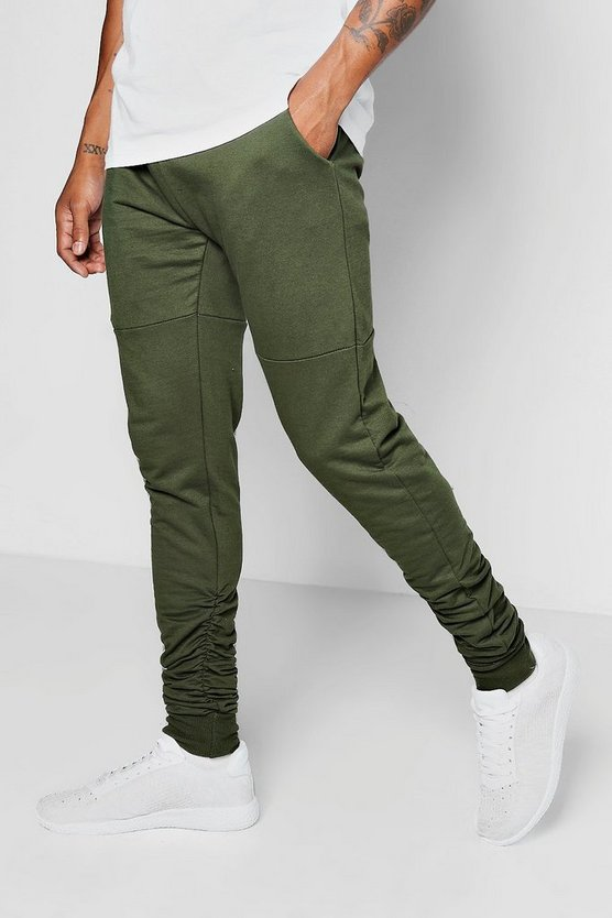 Skinny Fit Rouche Joggers