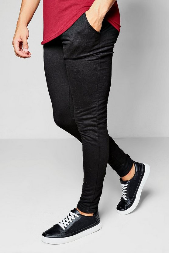 Skinny Fit Jogger With Black Zips