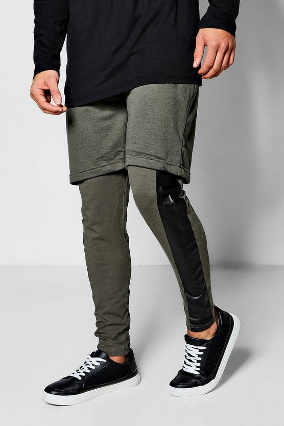 Jersey Shorts with Leggings