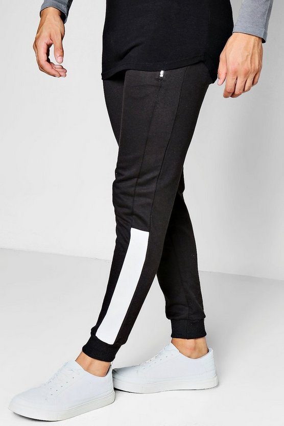 Skinny Fit Colour Block Jogger