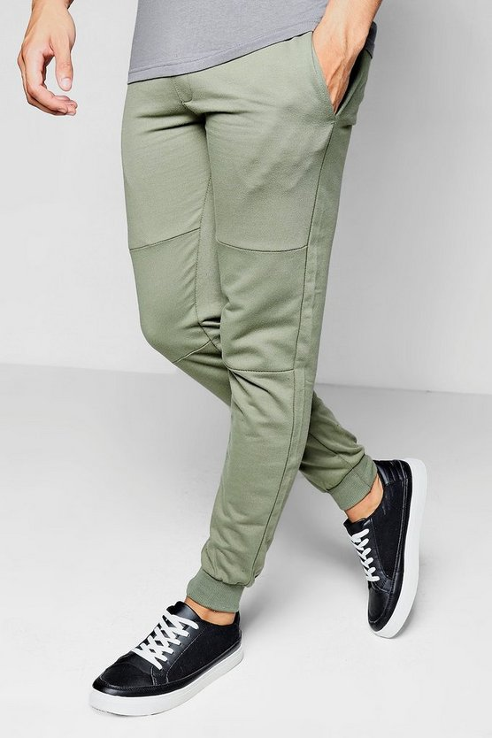 Skinny Fit Jogger With Sports Zip