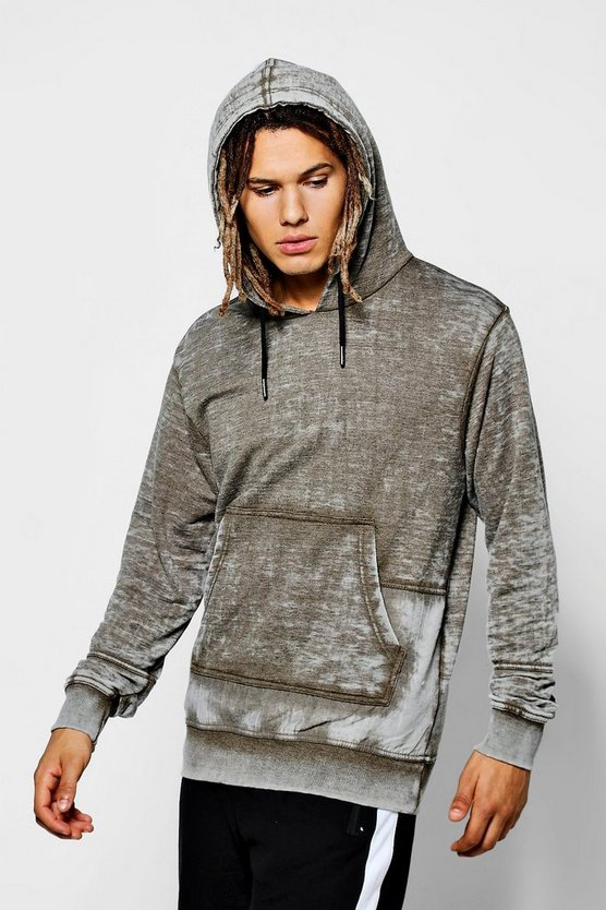 Over The Head Hoodie With Twin Panel