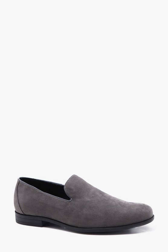 Faux Suede Slipper
