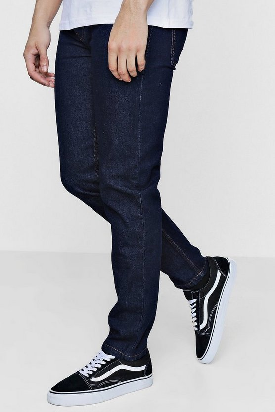 Slim Fit Indigo Denim Jeans In 13oz