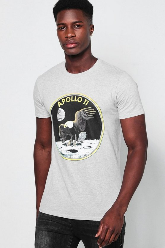 T-shirt stampa NASA Apollo